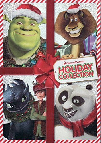 Dreamworks Holiday Collection - 4 Movie DVD Pack - Kung Fu Panda