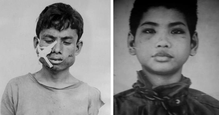 26 Haunting Portraits Of Prisoners During The Cambodian Genocide - http://all-that-is-interesting.com/cambodian-genocide-portraits?utm_source=Pinterest&utm_medium=social&utm_campaign=twitter_snap