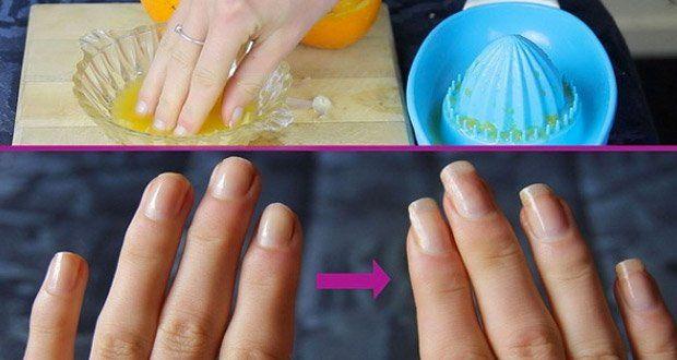 si-vous-voulez-des-ongles-longs-et-resistants-appliquez-ce-remede-naturel  Le jus d'une orange fraîchement pressée  • Une gousse d'ail hachée  • 2 cuillères à soupe d'huile d'olive