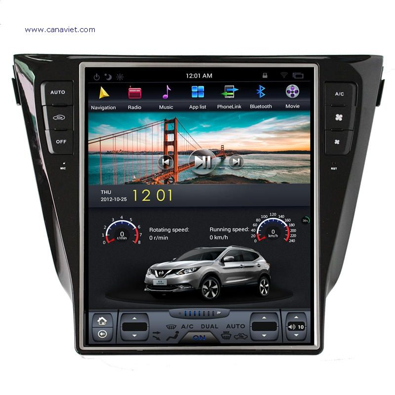 Vertical Screen Tesla Android Autoradio Car Multimedia Stereo Gps
