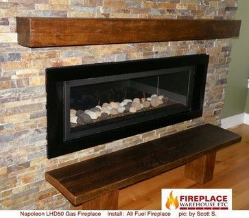 Steinbrecher Fireplace Contemporary Living Room Denver
