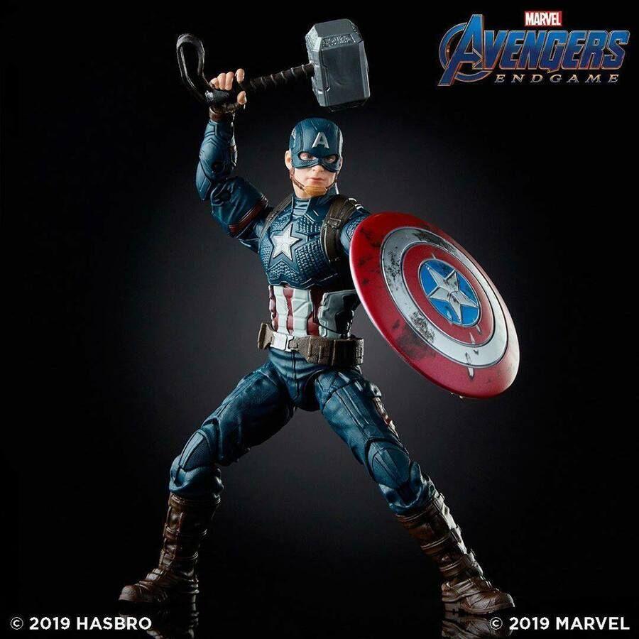 Marvel Legends Avengers Endgame Super Hero Captain America Steve Action Figure