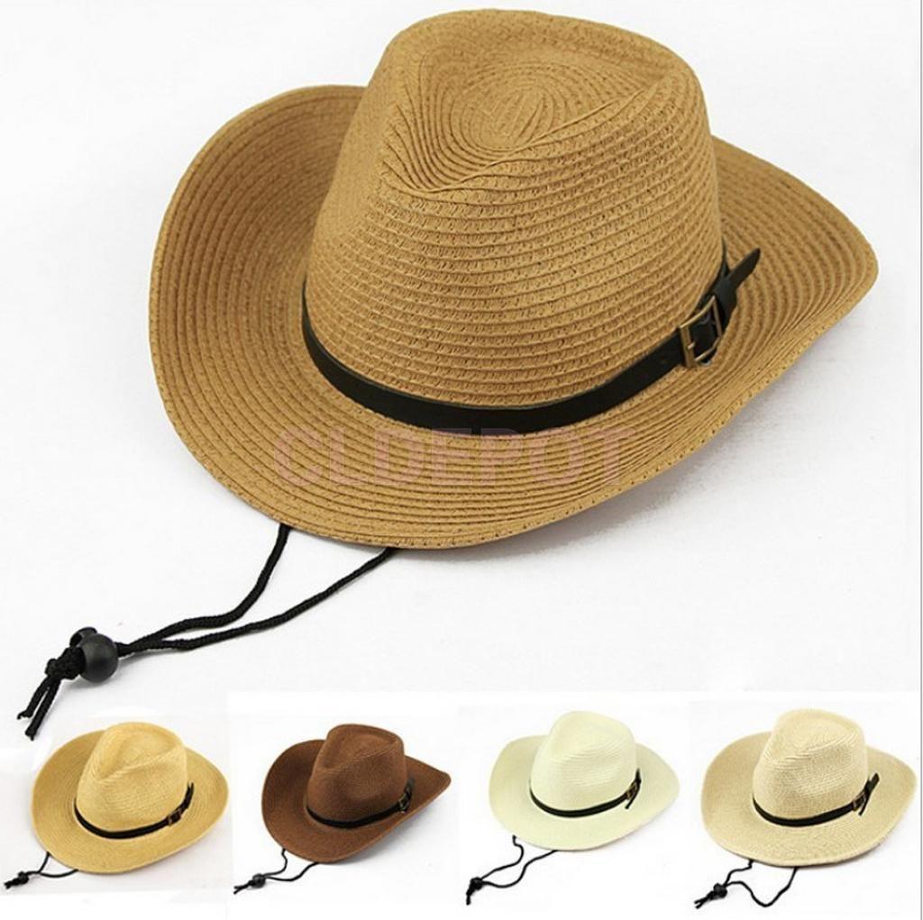 0f17cf1e99cb9e 5.48AUD - Kids Boys Sheriff Bull Rider Straw Cowboy Hat Western Montana  Travel Cap Sun Hat #ebay #Fashion
