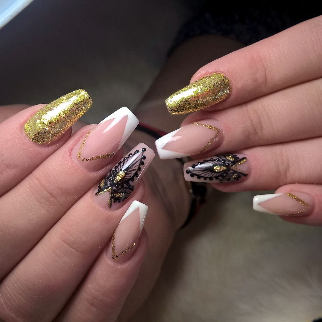 cool 25 Fancy Ideas On Casket Nails - Trendy and Exclusive ...