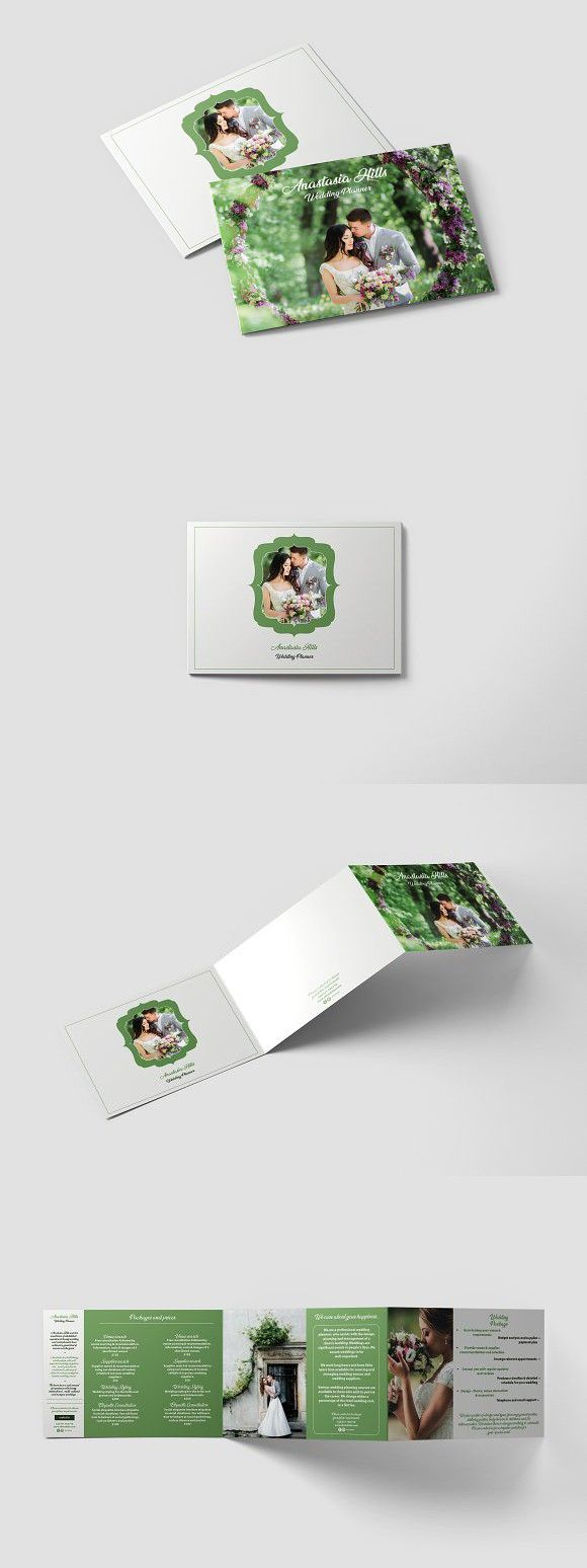 wedding planner a5 brochure template brochure templates
