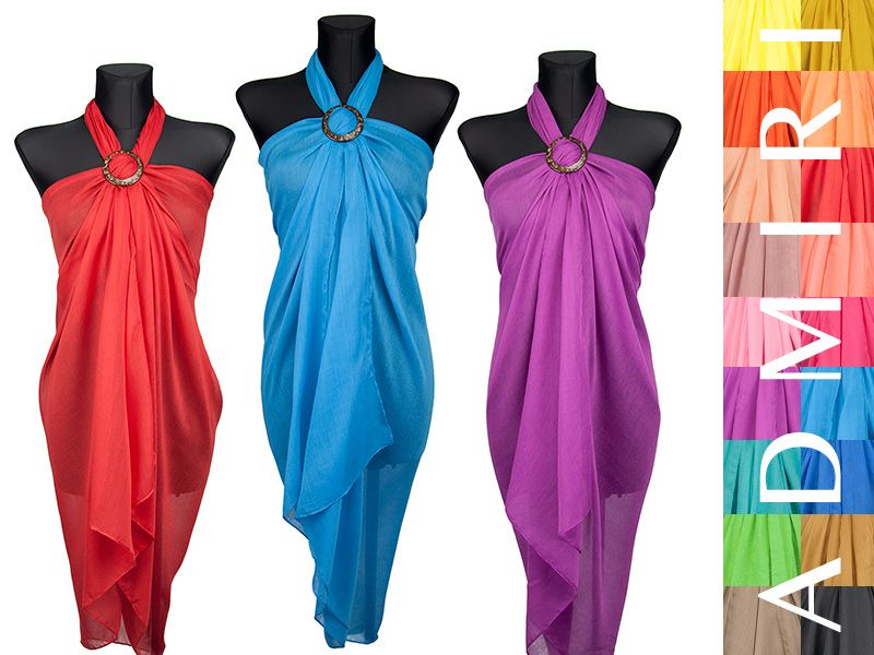 P24 Zwiewne Maxi Pareo Chusta Plazowa Modne Kolory 5167623610 Oficjalne Archiwum Allegro Fashion Summer Bikinis Formal Dresses