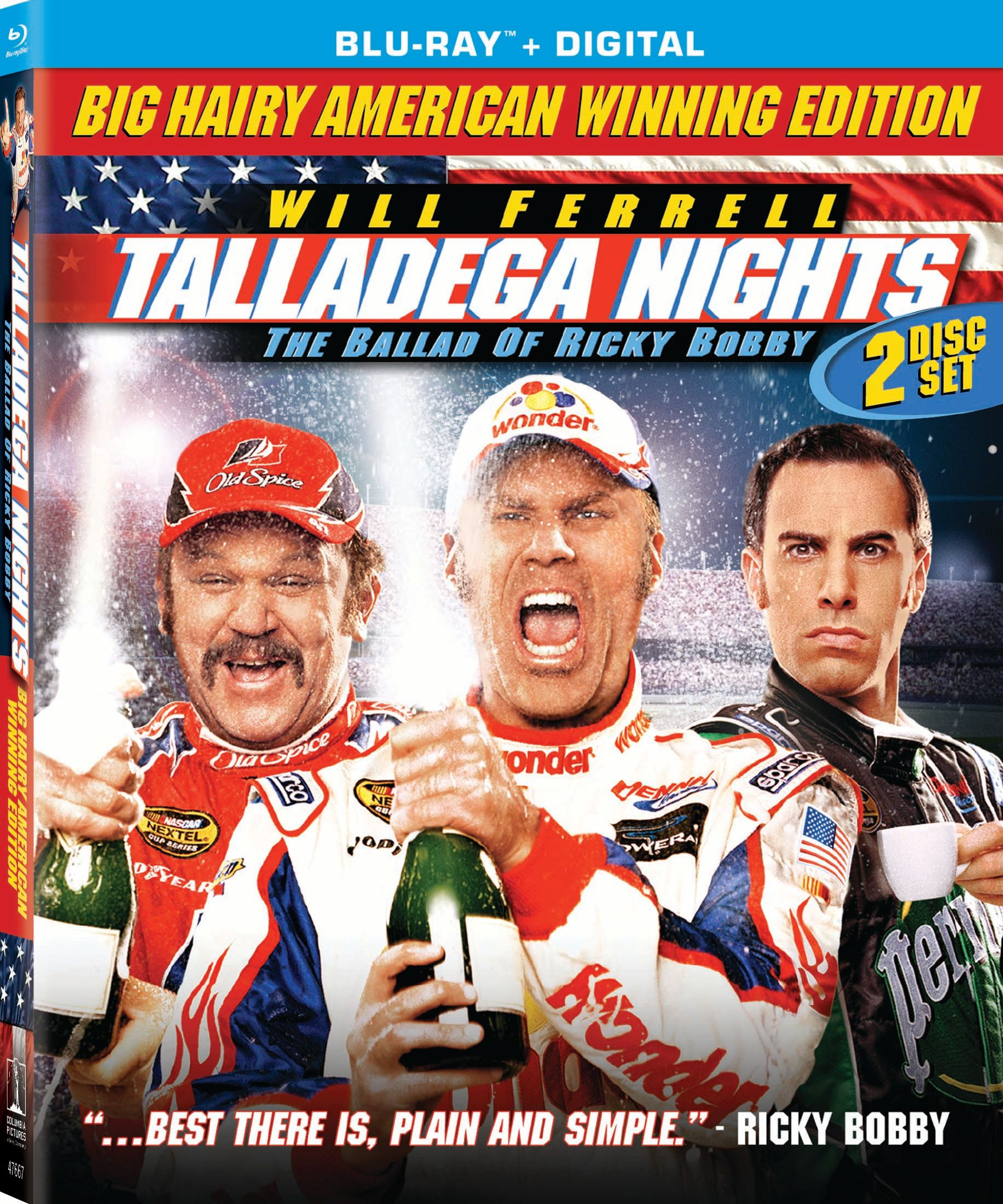 Will Ferrell's Talladega Nights has an all-new Blu-ray