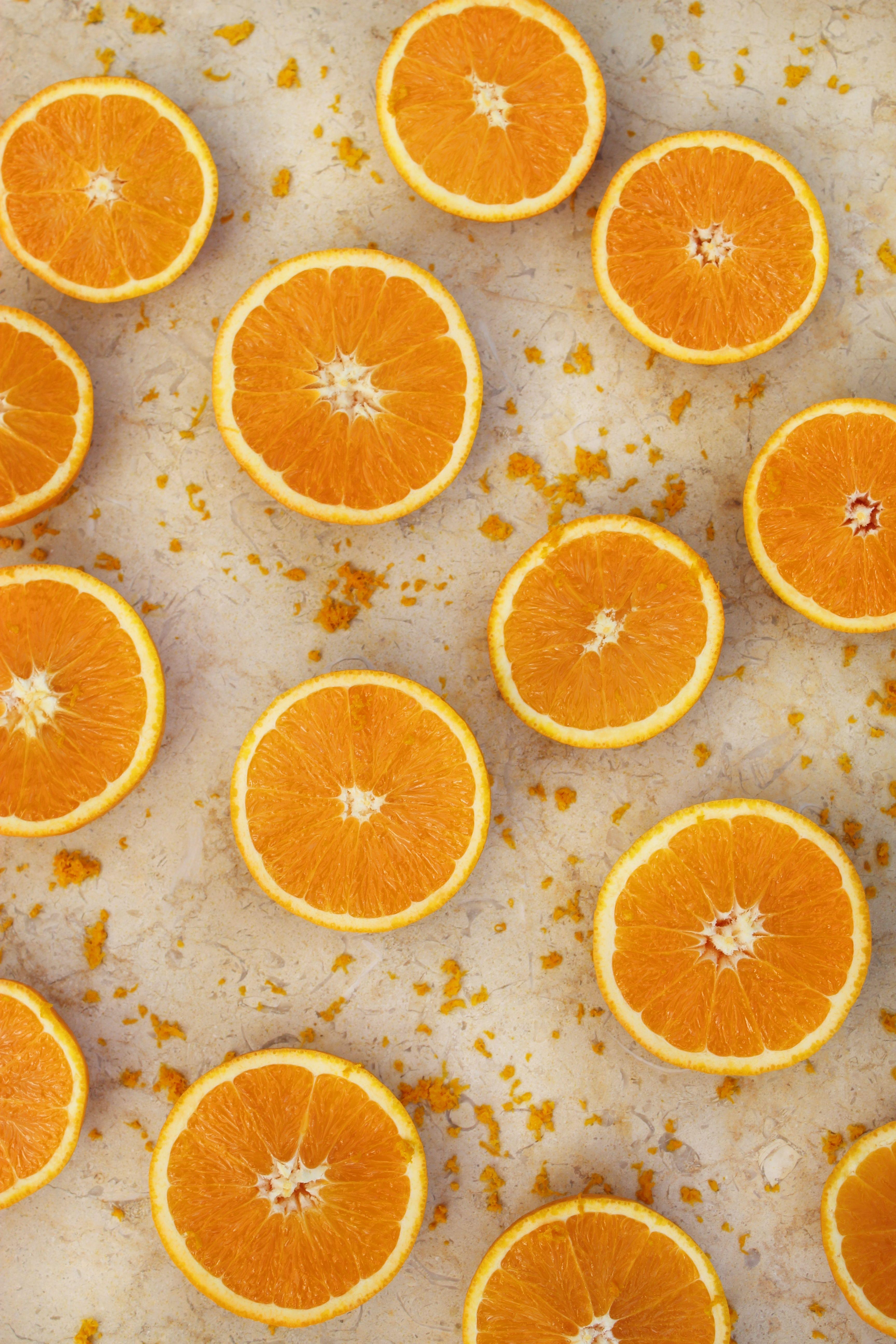 Naranjas Fruta Rodajas De Naranja Naranja Fruta Rodajas De