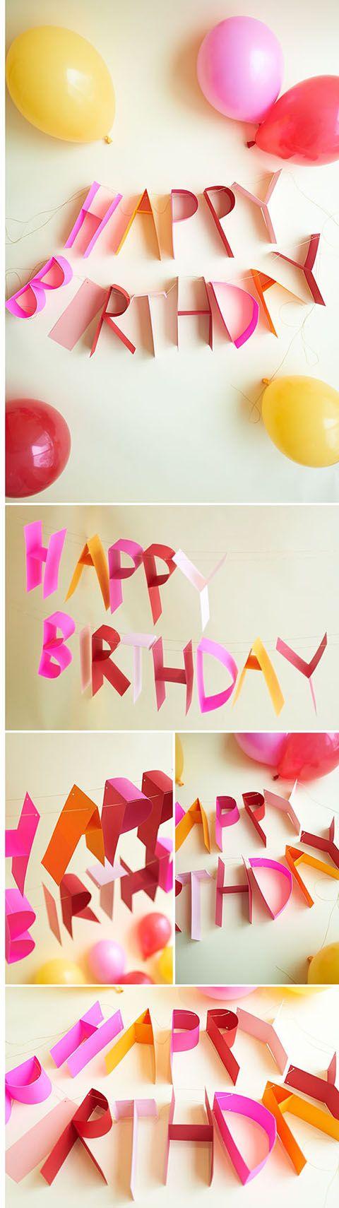 ガーランドの作り方6 ハーフバースデー Diy Birthdaybirthdaydiy
