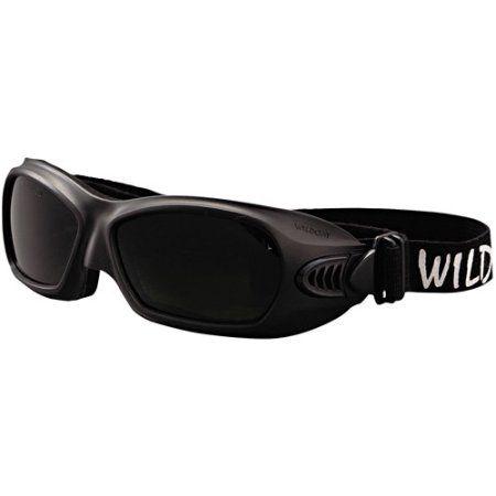 Kimberly-Clark Professional Jackson Safety V80 WildCat Cutting Goggles, Black Frame, Shade 5.0 Lens