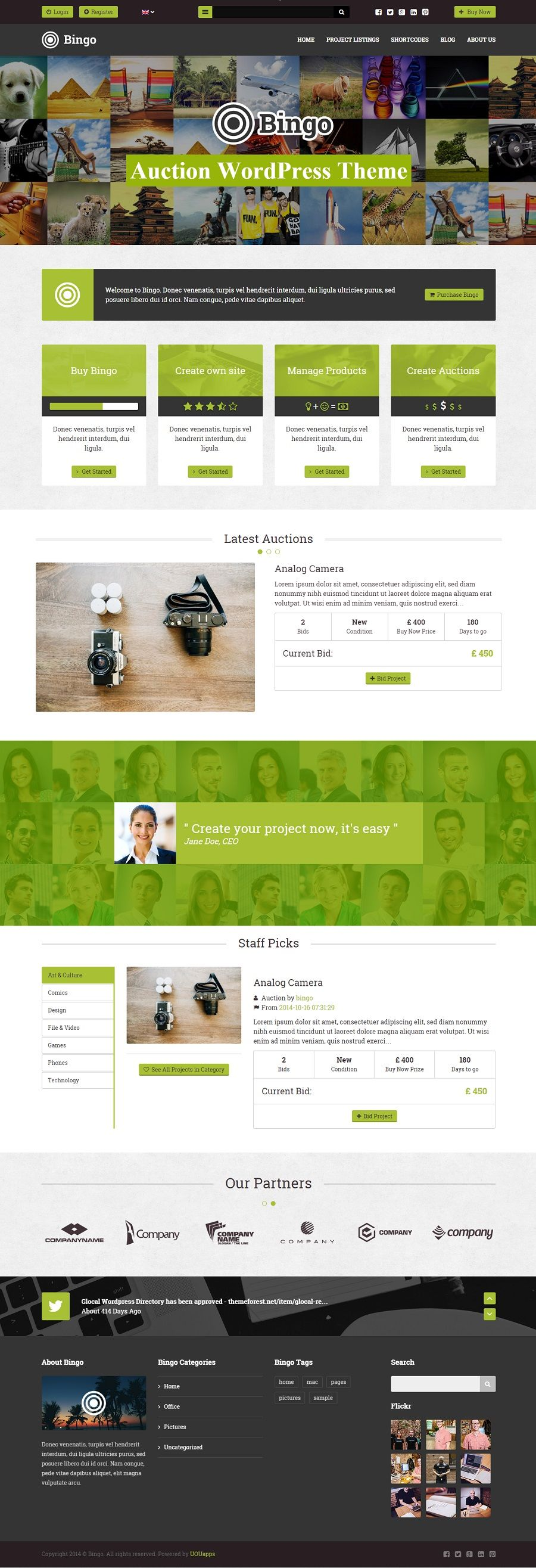 Auction Website Template Auction WordPress Themes & Plugins  Site & Landing Page Templates