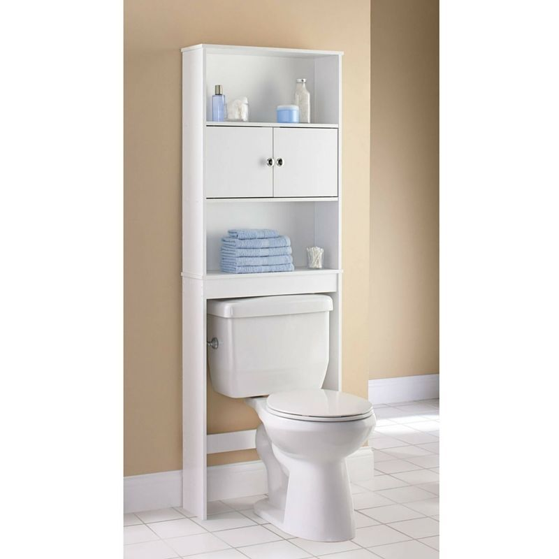 New Bathroom Over The Toilet Space Saver Storage Cabinet Shelf