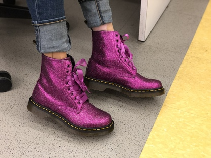 0bd748f627a8 Dr martens 1460 pascal fine glitter in 2019 | pretty little things ...