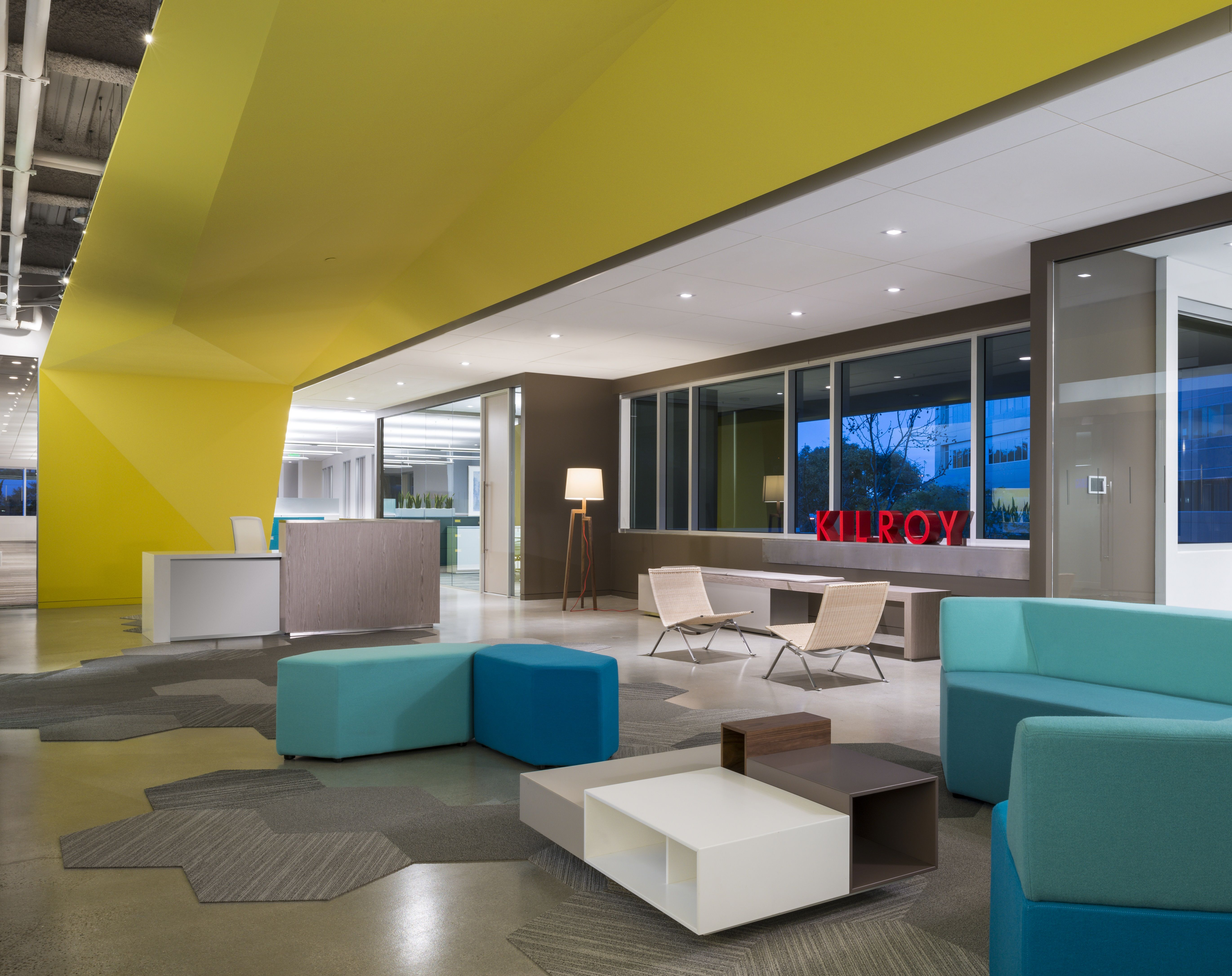 Kilroy Realty Leasing Office - in Irvine, CA | Creative Flooring ...