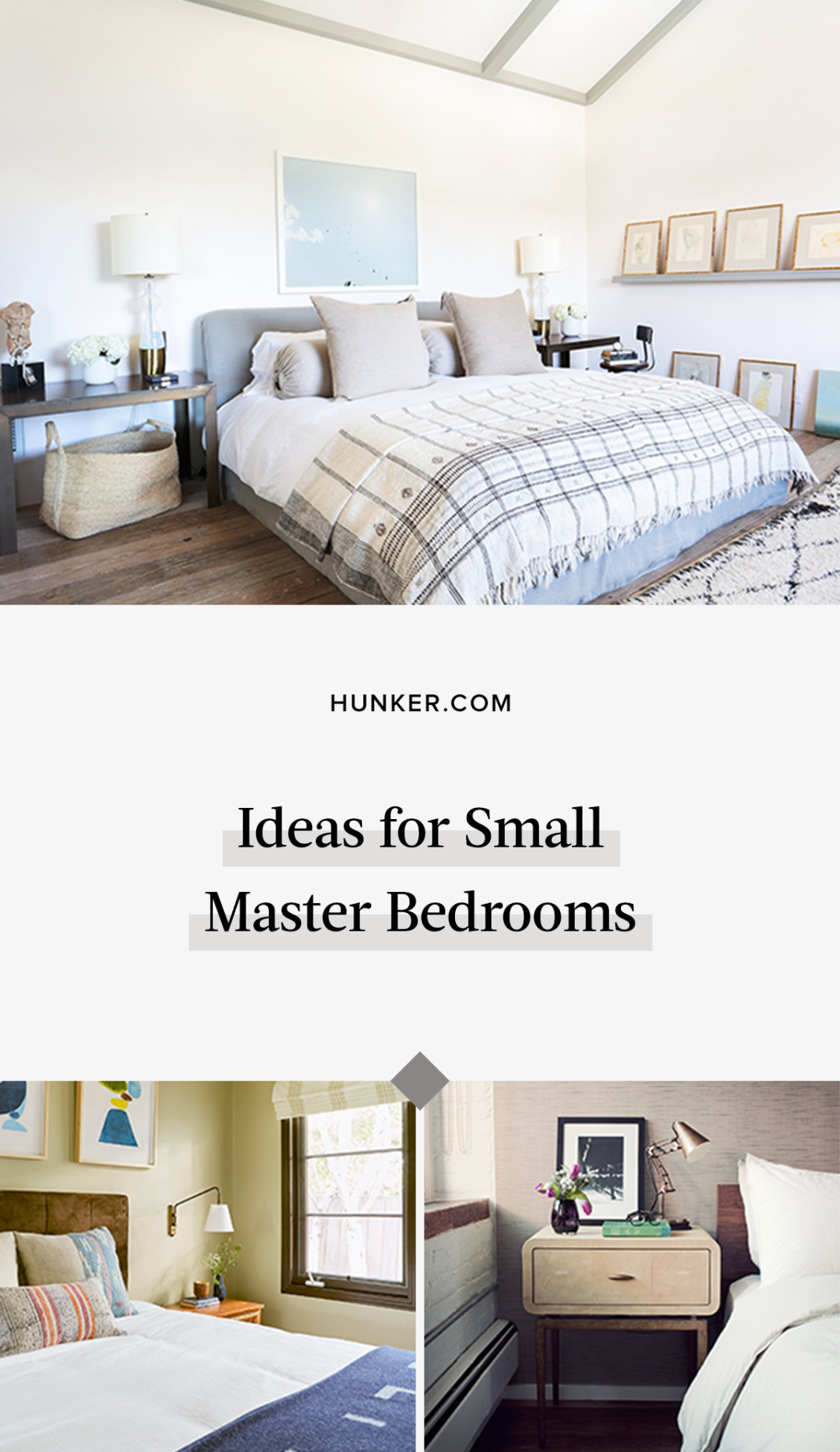 5 Small Master Bedroom Ideas to Make the Most of Minimal ...