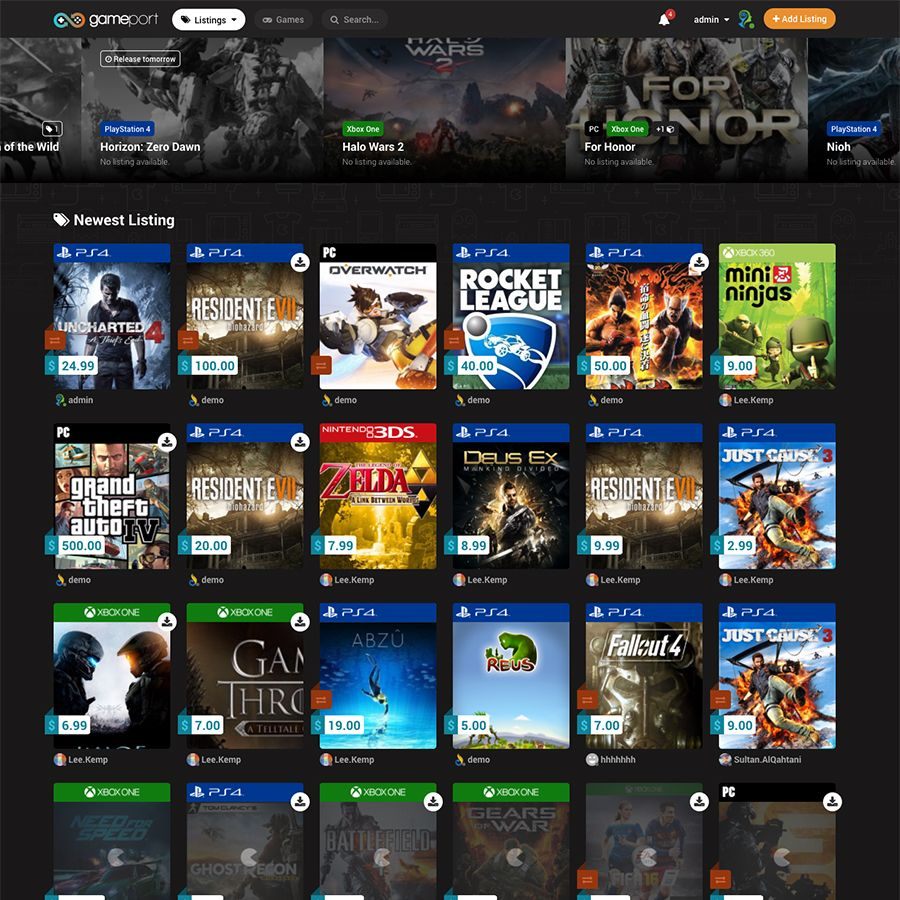 Gameport Video Game Marketplace Video Games Xbox One Pc Games