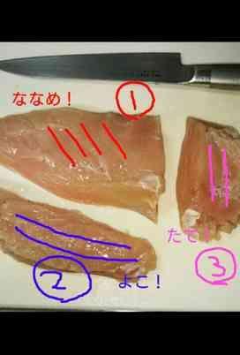 鶏 胸 肉 切り 方 新発見!鶏むね肉がこんなにもやわらかくなるとは!