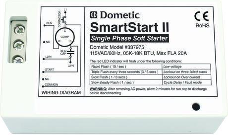 337975 SmartStart II, 115V, 60Hz, 5K-18K by Dometic Cruisair   Red led, Led  indicator, LedPinterest