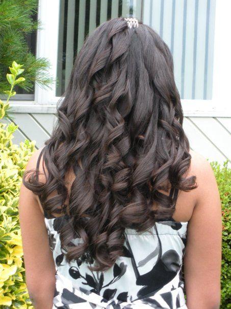 sweet 16 hairstyle #sweet16 #hair