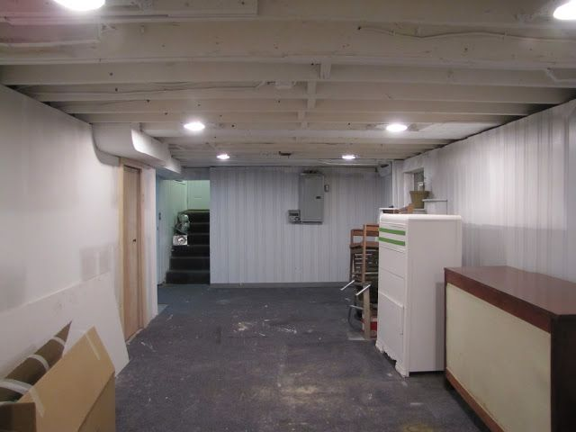 Inspirational Painting Unfinished Basement Ceiling