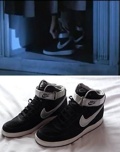 Classic Nike Vandal's High worn by Kyle Reese in Terminator (black/silver) |