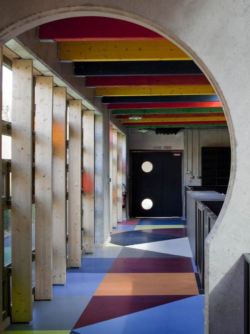 School complexe in Chartres - France