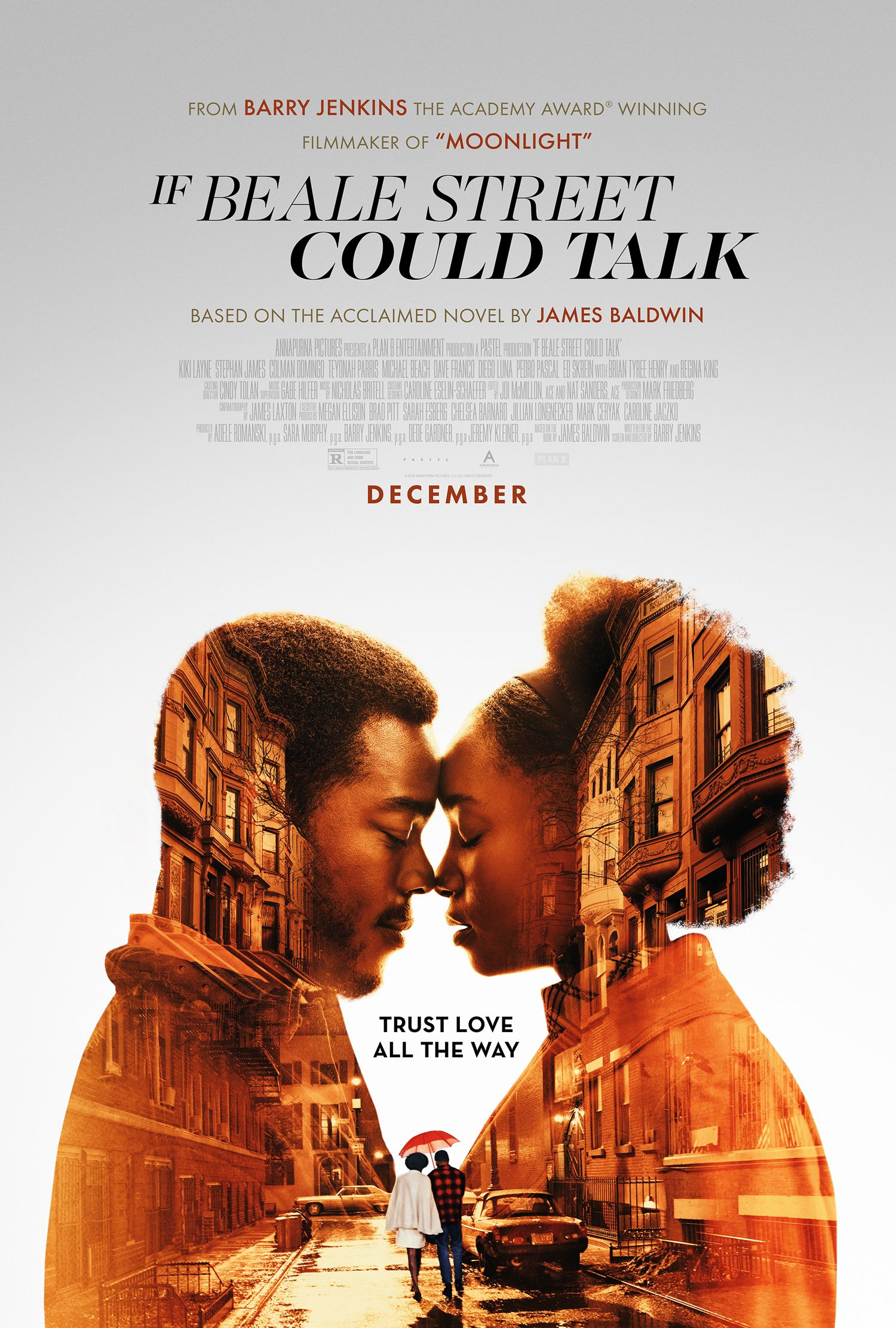 If Beale Street Could Talk Starring Kiki Layne Stephan James Regina King In Theaters December 25 2018 Beale Street Free Movies Online Full Movies