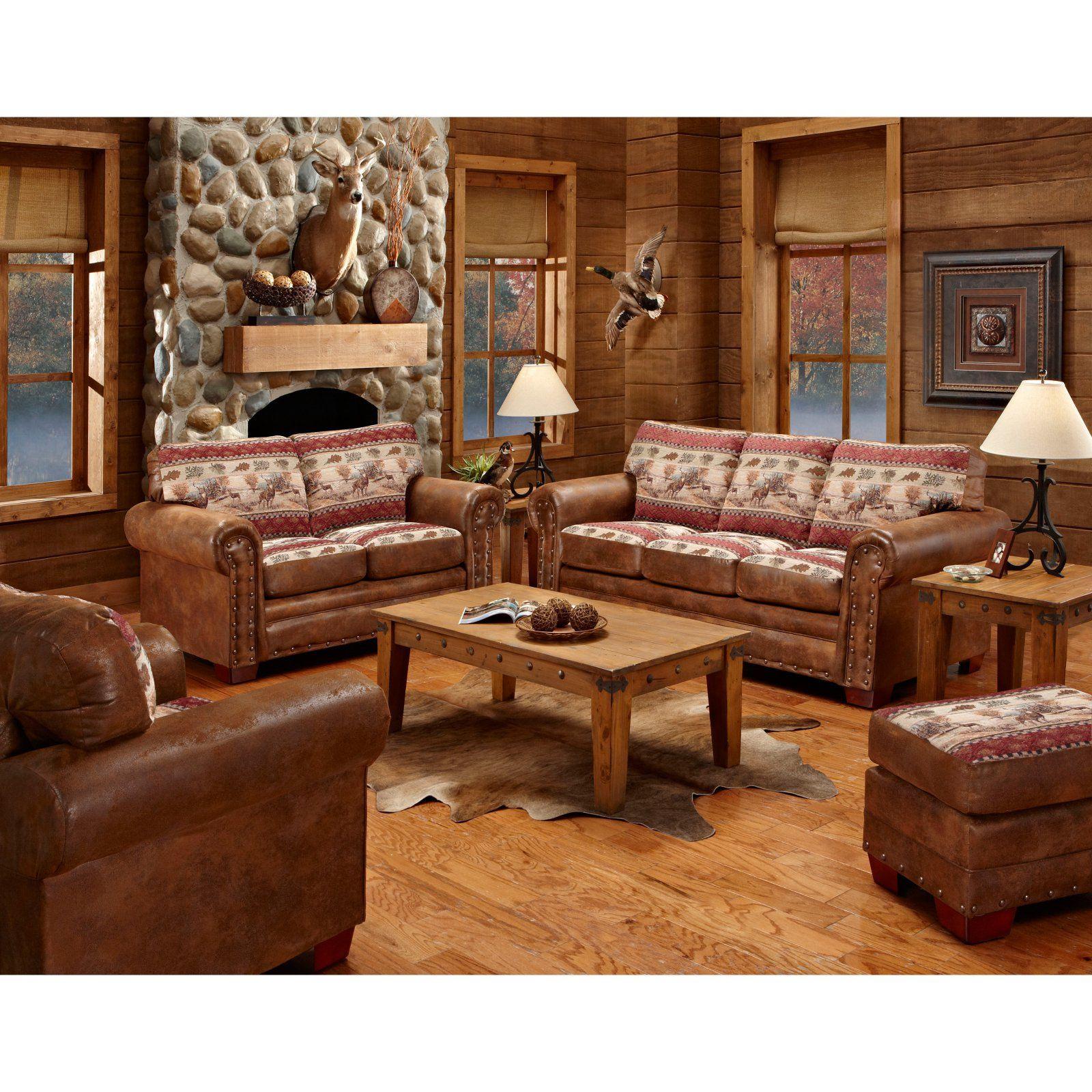 American Furniure Classics Deer Valley Sofa Bed, Brown