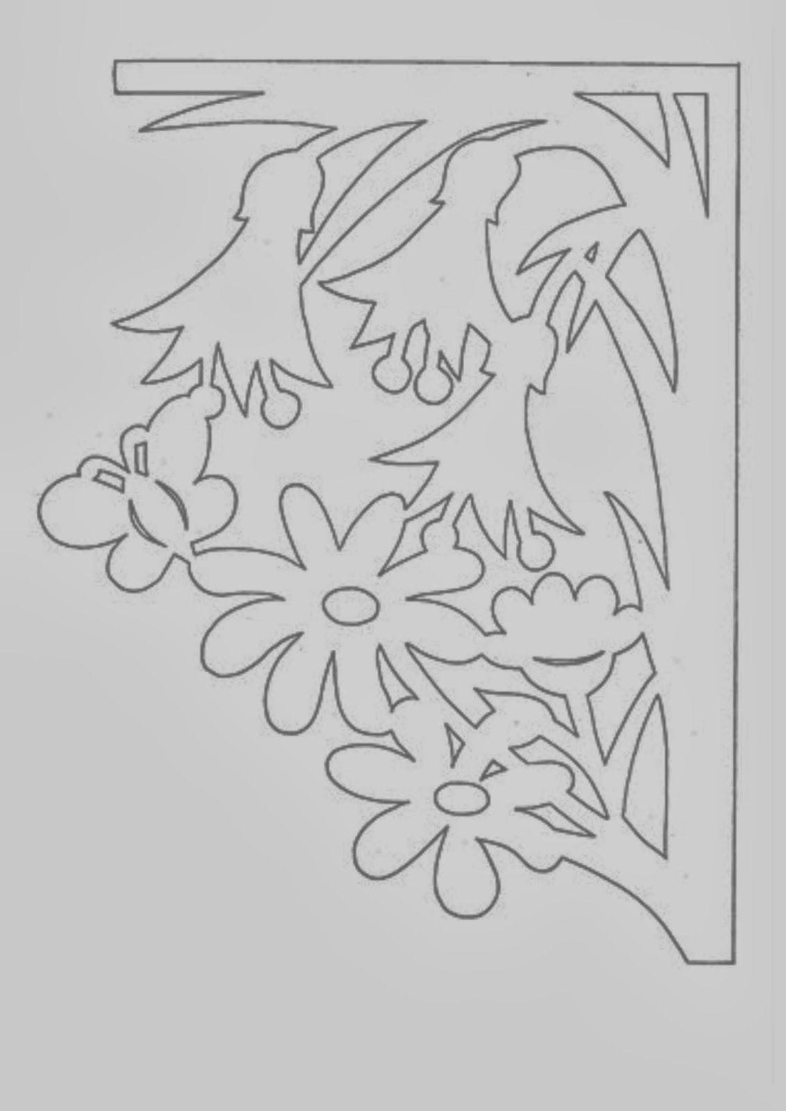 Вытынанки цветы шаблоны для открыток, сыну