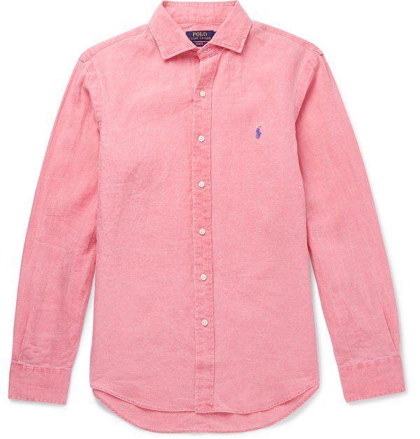 ea322f3f2f6 la chemise aux couleurs de l été - Ralph Lauren chez Mr Porter