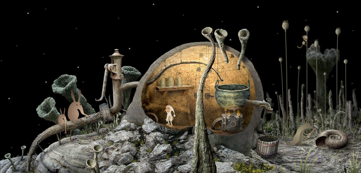 Samorost 2 on Steam Amanita design, Indie art, Samorost 2