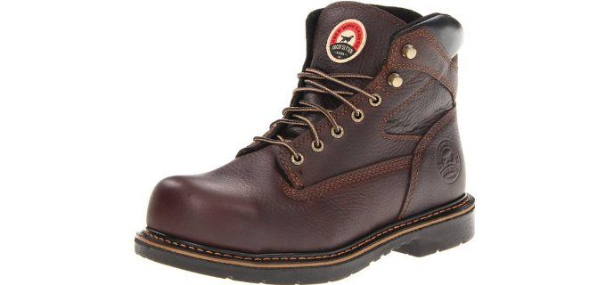 c8bd8714e8c Irish Setter Work Men's 83624 Work Boots for Flat Feet | Best Work ...