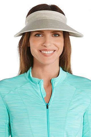 95893d957dc7a7 ... our Zip-Off Sun Visor made with packable materials and available is  stunning hues to compliment your wardrobe, has you covered with a 4 3/4