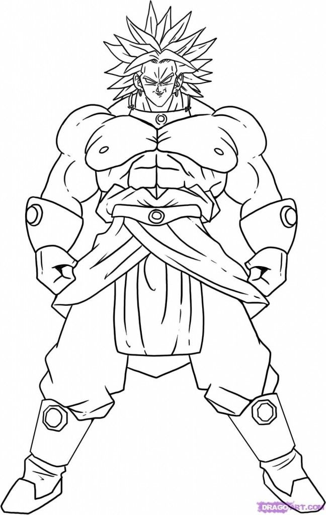 Free Printable Dragon Ball Z Coloring Pages For Kids Dragon Ball Image Dragon Ball Super Art Dragon Ball Art