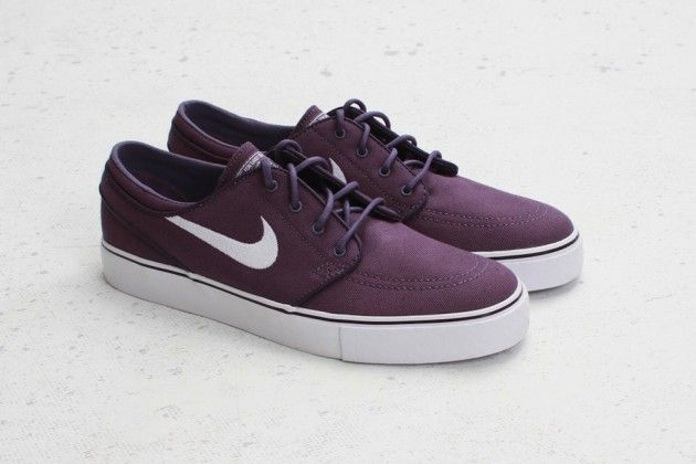 343afddf6b Nike SB Zoom Stefan Janoski Low - Canyon Purple/White • Highsnobiety