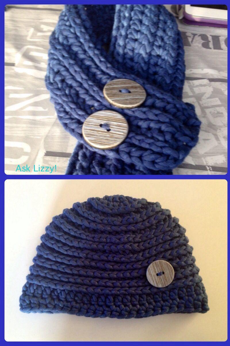 Sjaal en muts jongen. Boys Hat and scarf