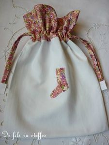 sac chaussette