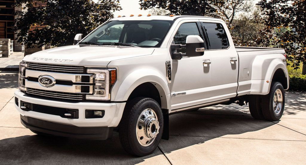 Ford Announces Final Destination Like Recall For 2017 2019 Super Duty Supercrew Carscoops In 2020 Super Duty Trucks Ford Super Duty Ford Super Duty Trucks