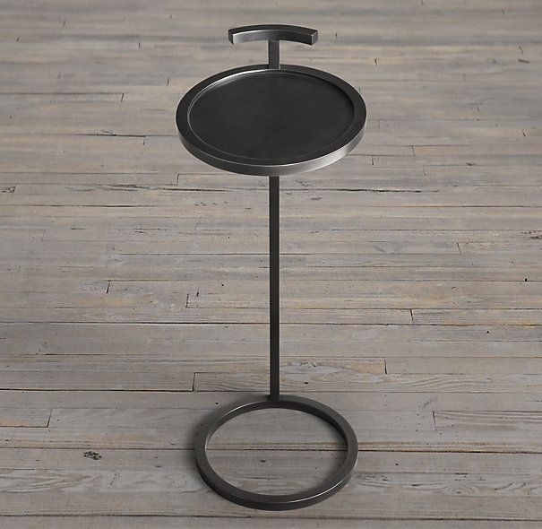 Martini Two Tone Side Table West Elm 127 15 Diameter X 16 5 H Side Table Modern Side Table Living Room Coffee Table