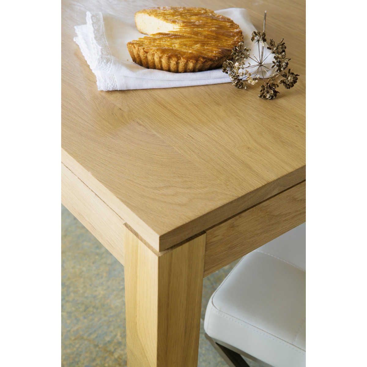 Tavolo da pranzo allungabile 6 a 8 persone in rovere L 160/210 cm