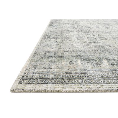 Williston Forge Breed Handwoven Grey Off White Area Rug Rug Size
