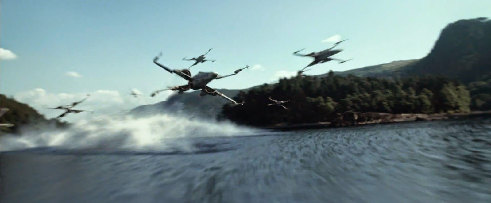Star Wars Episode VII: The Force Awakens X Wing Still