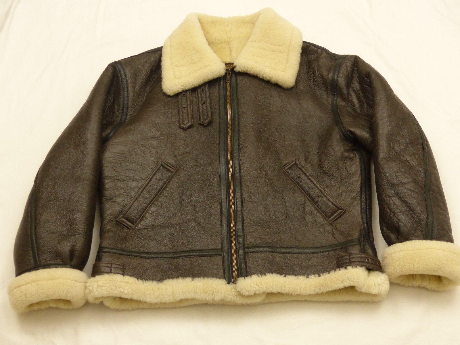 Redskins B32 Pilot's Flyer Vintage Winter Leather Jacket