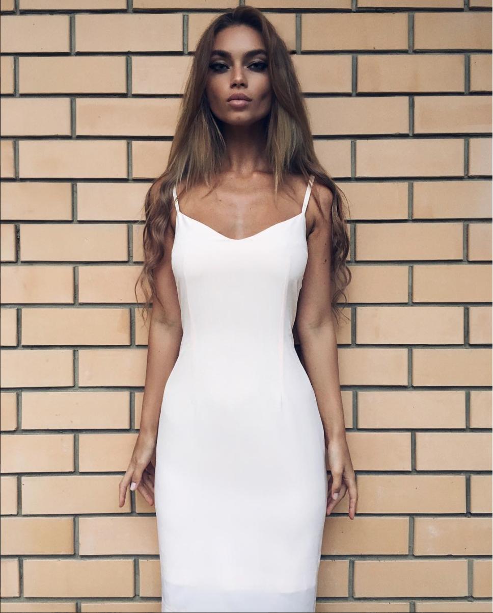 IG: Uliana Berdysheva wearing YB Atelier