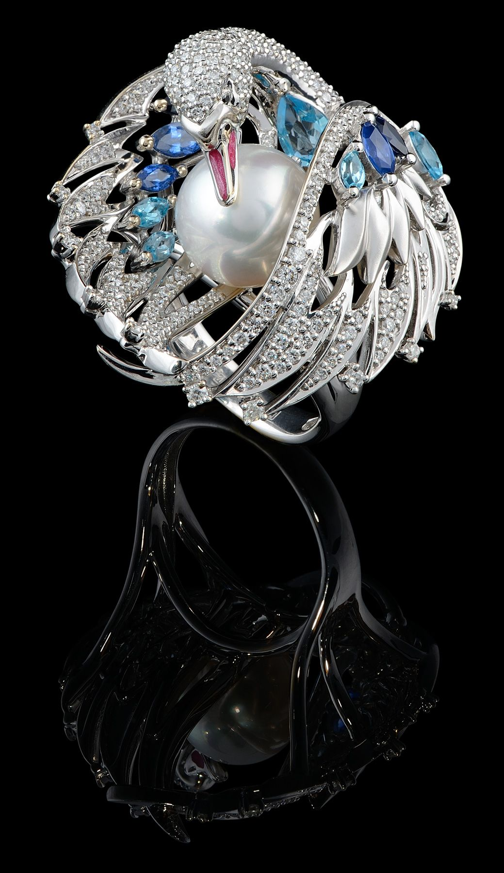 Master Exclusive Jewellery - Birds of Paradise - Swan Ring