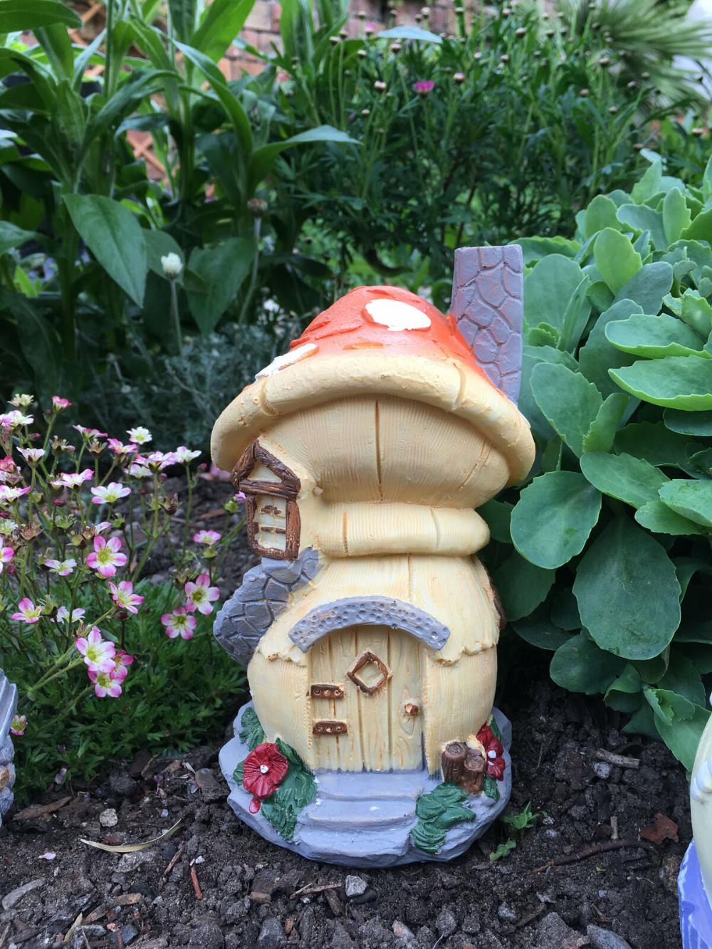 17cm Ornamental Fairy House Cottages Perfect For A Miniature Garden Village Ebay 17cm Cottages Ebay Fairy In 2020 Miniature Garden Fairy House Gnome Garden
