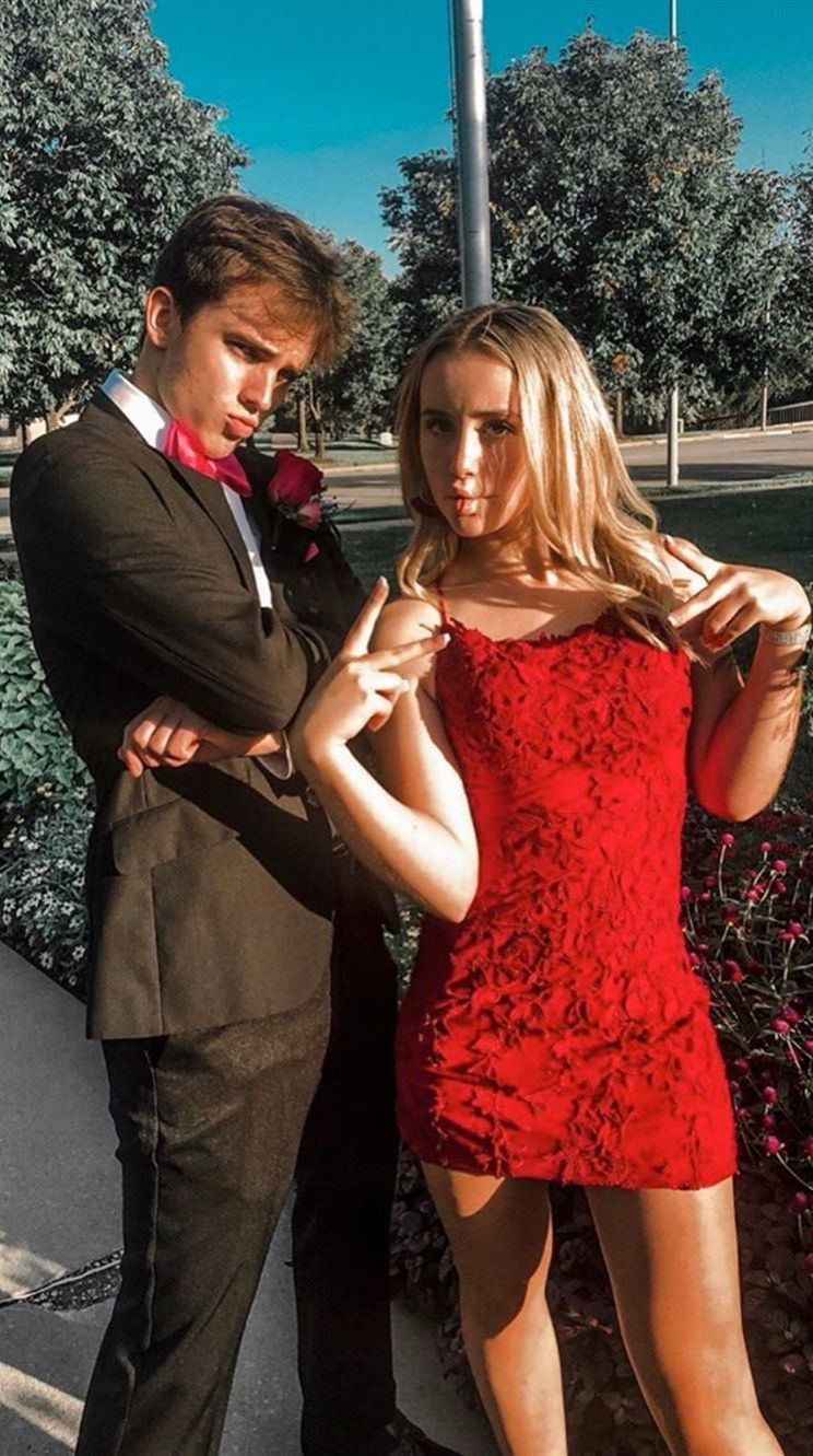 Photo of Source by jillimorotzekg #prom outfits for couples red