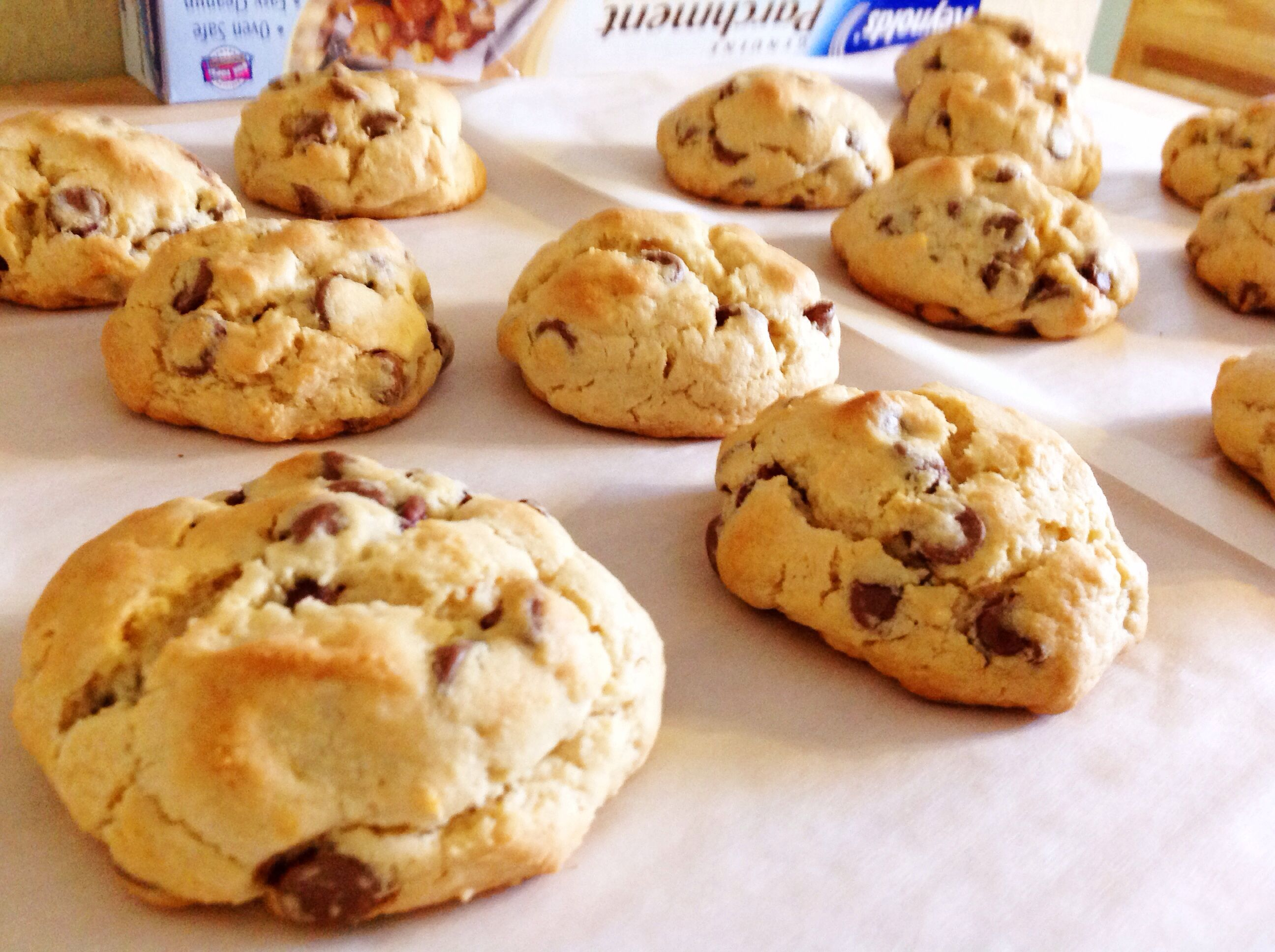 Chocolate chip cookies < 3
