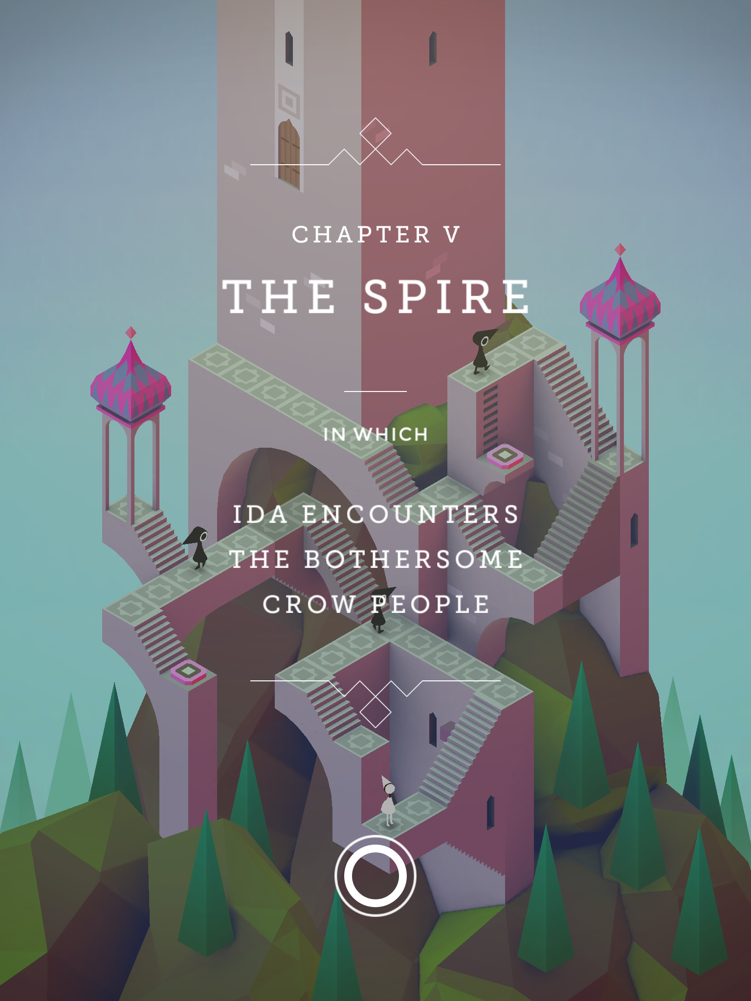 Monument Valley by usTwo Games Such a beautiful puzzle app