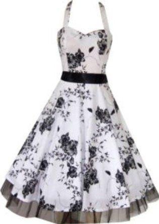 Robe noire et blanche amazon